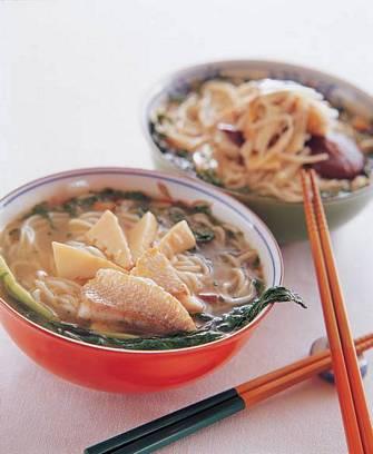 雪菜黃魚麵