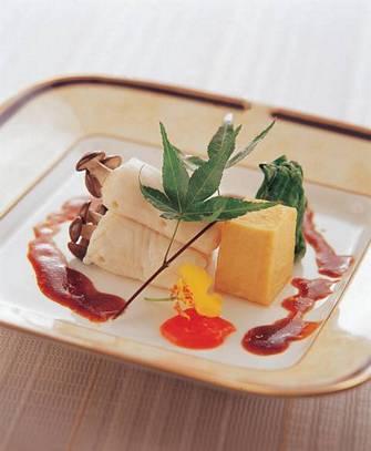 香煎椎茸鱈魚捲