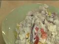 燉飯.火鍋皆可行 辣豆漿顛覆傳統口味! 豆漿能喝能入菜 顧客:味道像滷豆乾 多種中藥材熬製 微鹹微辣豆香味濃厚 研發20多種口味 百變豆漿要您來體驗