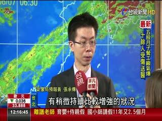 鋒面+西南氣流下週二.三恐再現強降雨