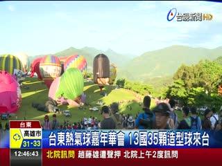 暑假出遊趣童玩節.熱氣球嘉年華開跑囉!