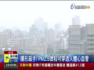 PM2.5濃度飆升肝癌患者死亡率多10倍