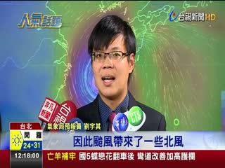 秋天來了!北風到降溫北台灣週日起轉涼