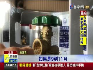 瓦斯鋼瓶開關閥爆瑕疵使用漏氣恐氣爆