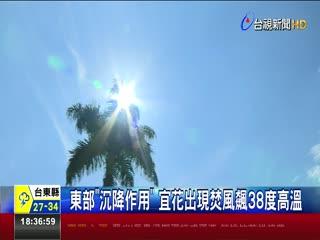 台東見飛碟雲氣象局:天氣晴的高積雲
