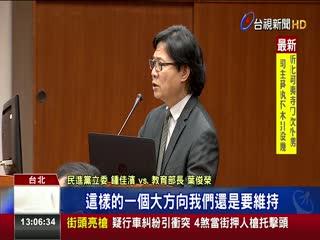 台大遴選爭議未果葉俊榮赴立院報告遭砲轟