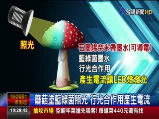 科技新趨勢!美研究菇類竟可當發電原料
