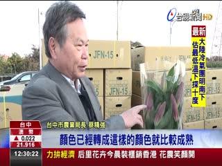 台中也要拚經濟!逾三萬花卉外銷香港