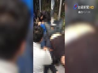 台灣旅行團上海旅遊 步行遭撞1死9傷【一刀未剪看新聞】