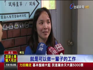中華郵政招聘新血碩博士考生擠破頭